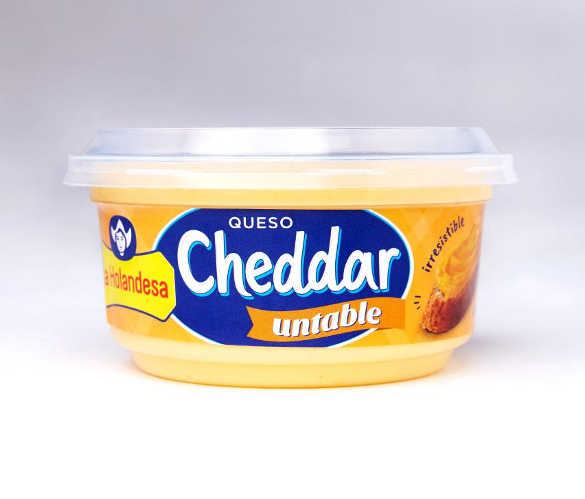 Queso Cheddar Untable