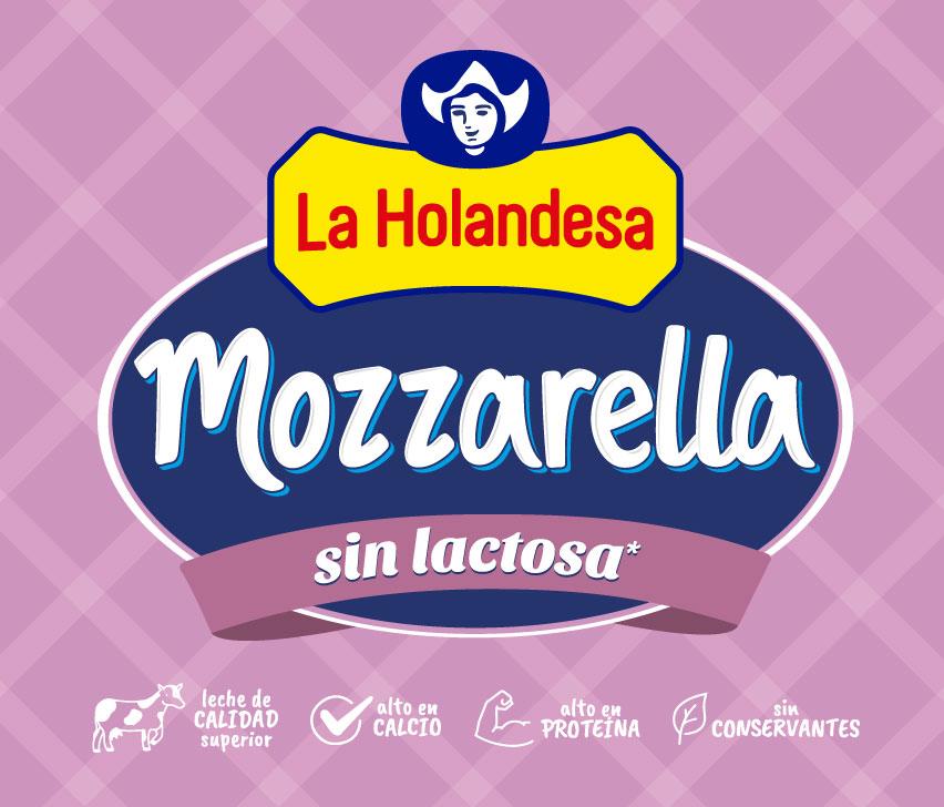 Mozzarella Sin Lactosa