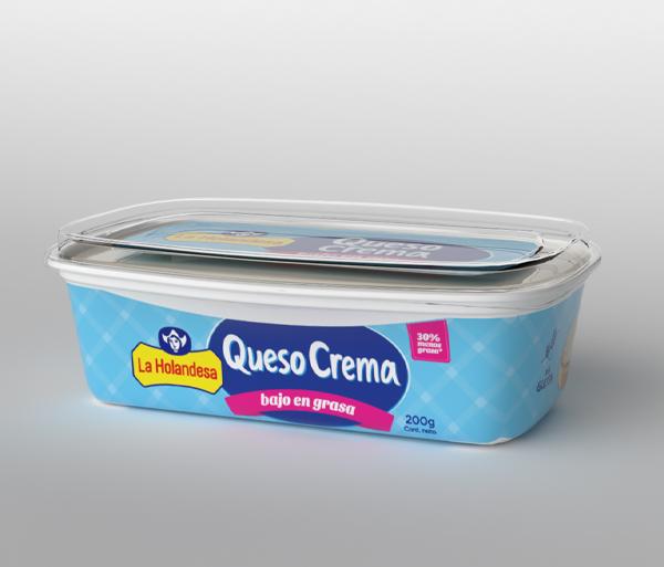 Queso Crema Bajo en Grasa