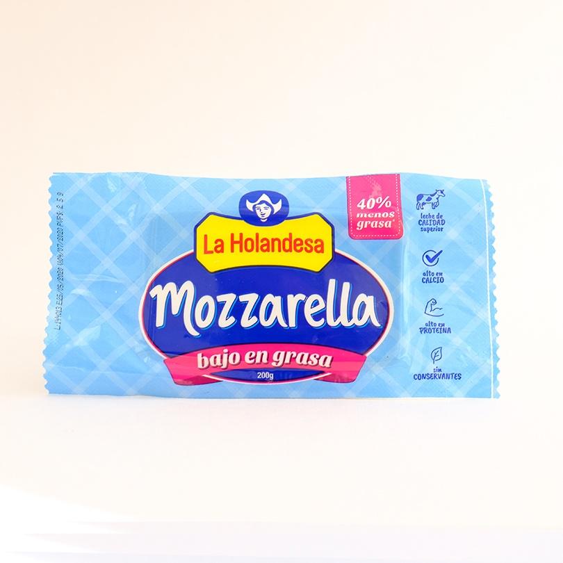 Mozzarella Bajo en Grasa